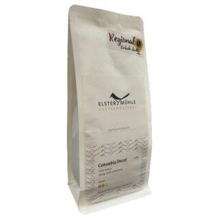 Elstermühle Kaffee Colombia Decaf Ganze Bohne 250g