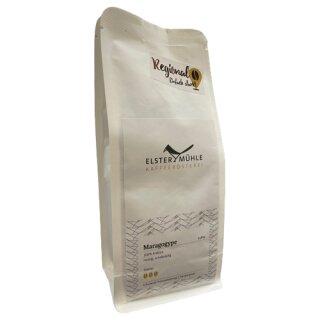 Elstermühle Kaffee Maragogype ganze Bohne