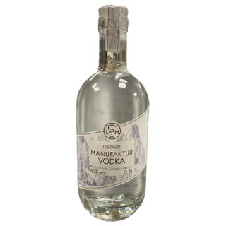 Leipziger Spirituosen Manufaktur Vodka 42%vol 500ml