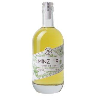 Leipziger Spirituosen Manufaktur Minz °9 Likör 24%vol 500ml