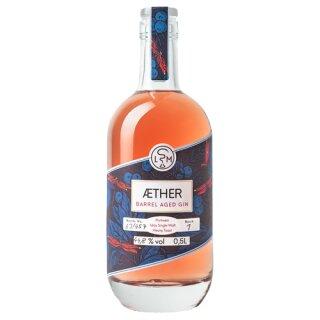 Leipziger Spirituosen Manufaktur Gin Aether Barrel Aged 44,8%vol 500ml