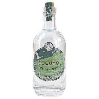 Leipziger Spirituosen Manufaktur Rum Cocuyo weiß  46%vol 500ml