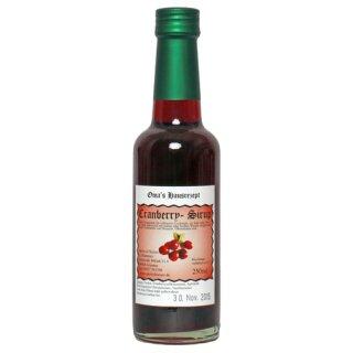 Spirit of Nature Cranberrysirup 250ml