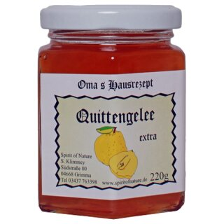 Spirit of Nature Quitten Fruchtaufstrich 220g