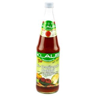 Klaus Bio Gemüsesaft-Cocktail 0,7l DE-ÖKO-021