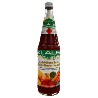 Klaus Apfel Rote Beete Mango Karottensaft 0,7l