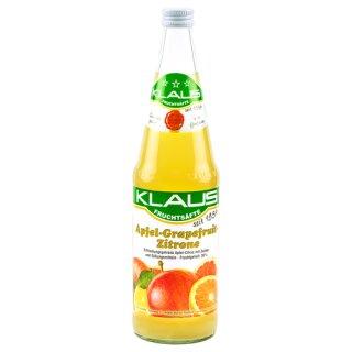 Klaus Apfel Grapefruit Zitronen Nektar 0,7l