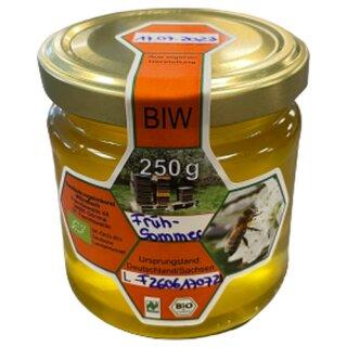 Bestäubungsimkerei Wündisch Honig Frühsommerblüte 250g