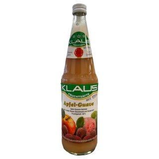 Klaus Apfel-Guaven-Getränk mit Soja 0,7l