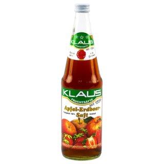 Klaus Apfel Erdbeersaft 0,7l