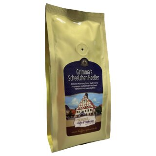 Sächsische Kaffeemanufaktur Grimma Kaffee Grimmas Scheelchen Heeßer 250g gemahlen