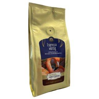 Sächsische Kaffeemanufaktur Grimma Kaffee Espresso - würzig 250g Bohne
