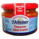 Döbelner Tomatenleberwurst 200g Glas
