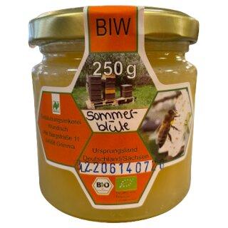 Bestäubungsimkerei Wündisch Honig Sommerblüte 250g
