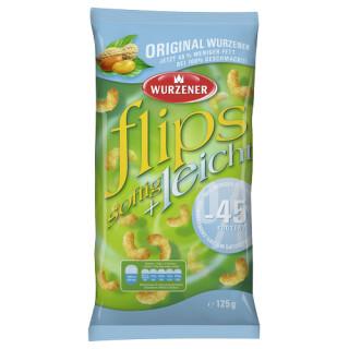 Wurzener Erdnussflips softig + leicht 125g