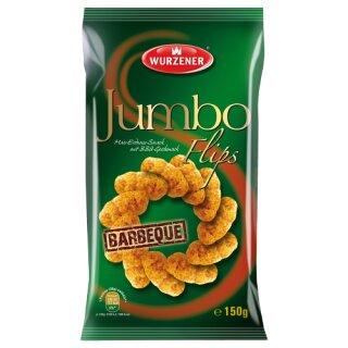 Wurzener Jumbo-Flips Erdnuss-Barbeque 150g