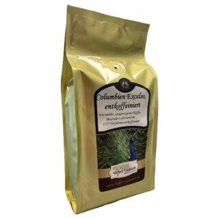 Sächsische Kaffeemanufaktur Grimma Kaffee Columbien Excelso entkoffeiniert 250g gemahlen