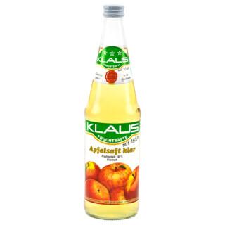 Klaus Apfelsaft klar 0,7l